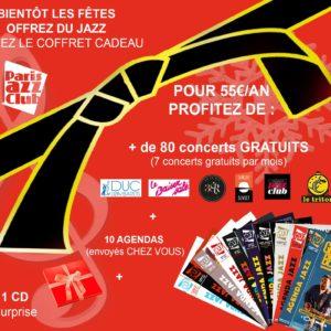 -10% Sur Le Coffret De Noël De Paris Jazz Club