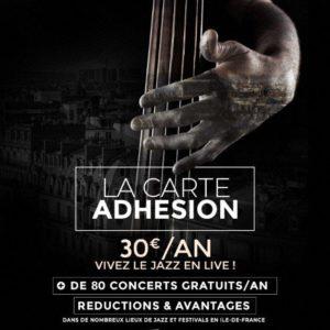 -25% Sur L'adhésion Au Réseau Paris Jazz Club