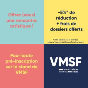 -5% Sur Les Séjours Artistiques Et Musicaux VMSF